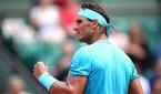 Nadal cân bằng kỷ lục 12 lần vào tứ kết Roland Garros của Djokovic