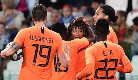 Video Italy 1-1 Hà Lan