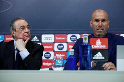 Zidane cãi nảy lửa với chủ tịch Perez trước khi từ chức