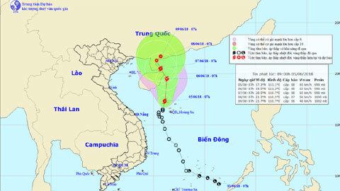 áp thấp nhiệt đới,bão số 2