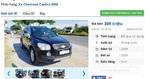 Những chiếc ô tô SUV cũ đang rao bán tầm giá 300 triệu tại Việt Nam