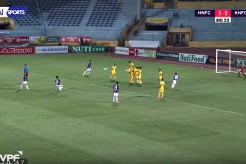 Quang Hải dẫn đầu bàn thắng đẹp vòng 11 V-League