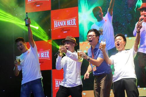 Sôi động ngày hội Bia Hà Nội 2018