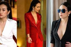Trang phục lấp ló vòng 1 đầy nữ tính của vợ Tuấn Hưng