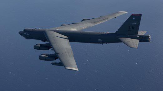 B-52 Mỹ bay gần các đảo tranh chấp trên Biển Đông