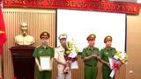 Bộ Công an bổ nhiệm nhiều chức danh Công an TP Hà Nội