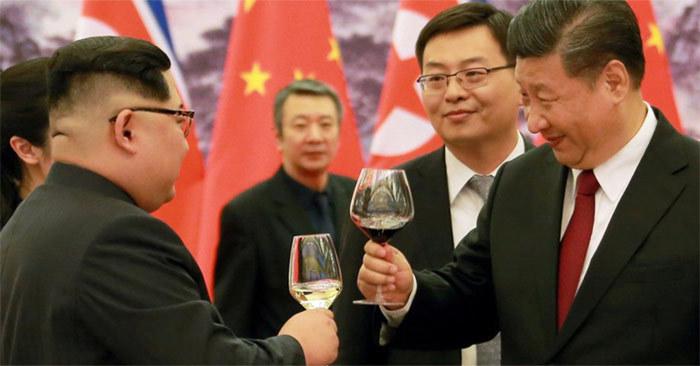 Trung Quốc,Triều Tiên,Mỹ,Tập Cận Bình,Kim Jong Un,Donald Trump,thượng đỉnh Mỹ - Triều,cuộc gặp Trump-Kim.