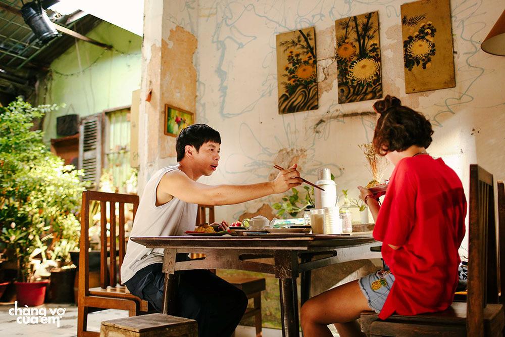 Thái Hòa hóa vợ đảm trong 'Chàng vợ của em'
