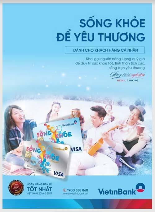 Nhiều ưu điểm vượt trội của thẻ Visa Debit 'Sống Khỏe'