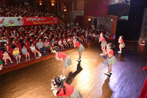 'Bay lên những ước mơ'- show miễn phí mùa hè cho trẻ