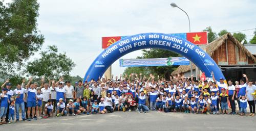 NS BlueScope Việt Nam tổ chức chạy bộ vì môi trường
