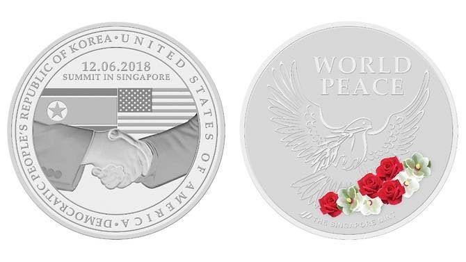 Singapore phát hành tiền xu kỷ niệm thượng đỉnh Mỹ - Triều
