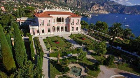 biệt thự đắt nhất hành tinh Villa Les Cedres