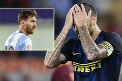 Messi lập phe cánh, loại Icardi khỏi tuyển Argentina