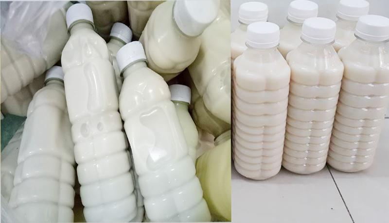 Dấu hiệu nhận biết sữa đậu nành pha hóa chất để không uống nhầm