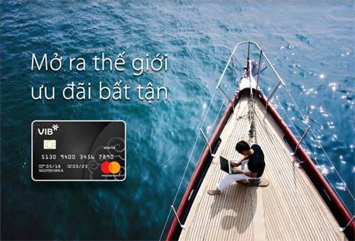 VIB ra mắt  thẻ tín dụng cao cấp  VIB World MasterCard