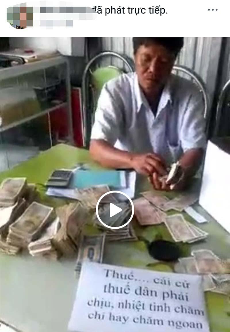 Kết luận bất ngờ vụ dùng tiền lẻ nộp thuế rồi livestream trên mạng