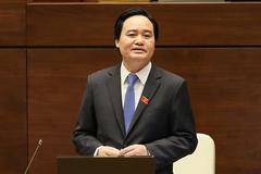 Trực tiếp: Bộ trưởng Phùng Xuân Nhạ trả lời chất vấn 3 vấn đề nóng