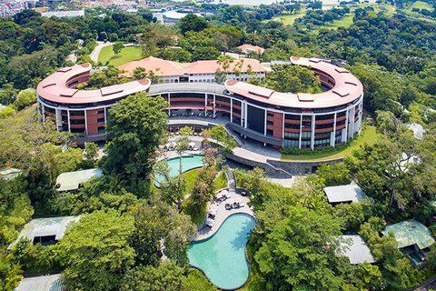 khách sạn diễn ra thượng đỉnh Mỹ - Triều