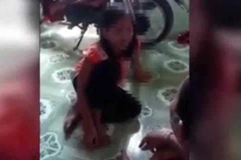 Bé 10 tuổi bị cha hiếp dâm