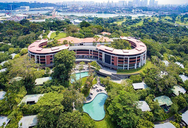 Hình ảnh khách sạn tổ chức thượng đỉnh Mỹ - Triều