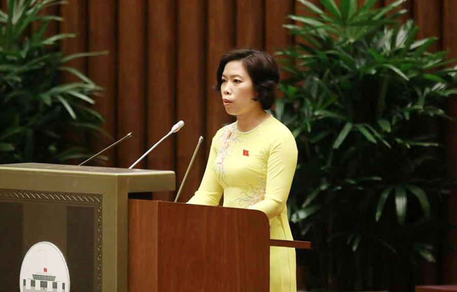 ĐB chất vấn Bộ trưởng Phùng Xuân Nhạ khiến máy tính của Quốc hội 'bị treo'