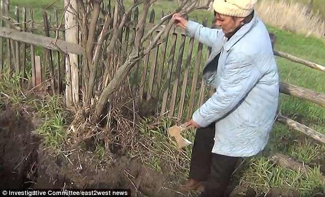 Trồng khoai tây, chồng mới phát hiện xương sọ chồng cũ của vợ