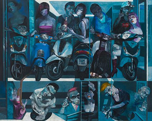 Triển lãm Tỏa 2: tụ hội 10 nghệ sĩ trẻ tài năng