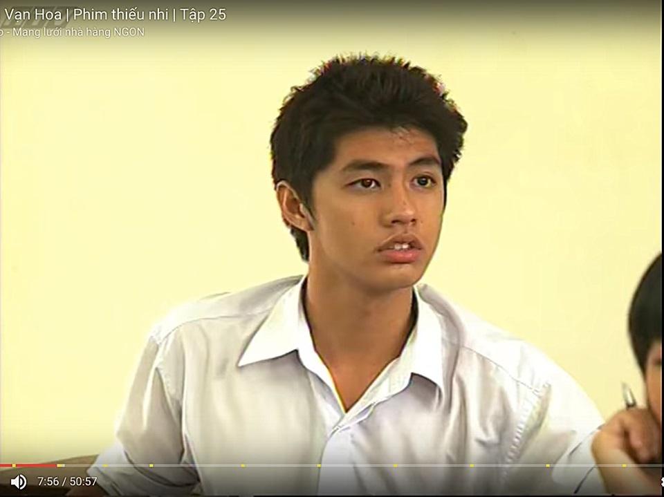 Hình ảnh Noo Phước Thịnh đóng phim 10 năm trước gây sốt mạng