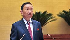 Bộ trưởng Tô Lâm: Đề xuất GĐ công an cấp tỉnh có hàm thiếu tướng