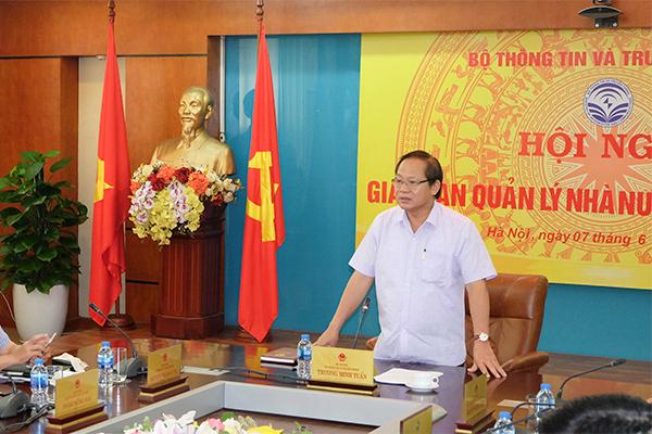 Bộ trưởng Trương Minh Tuấn: Xử nghiêm việc đưa tin sai sự thật
