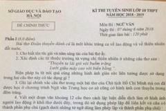 """""""Đoàn thuyền đánh cá"""" lại vào đề thi văn lớp 10 ở Hà Nội"""