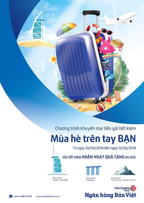 Mùa hè vi vu cùng Ngân hàng Bản Việt
