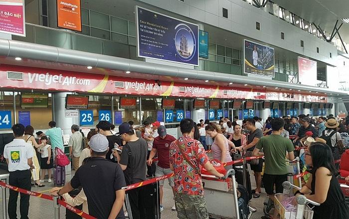 sân bay Đà Nẵng,hành khách,cấm bay