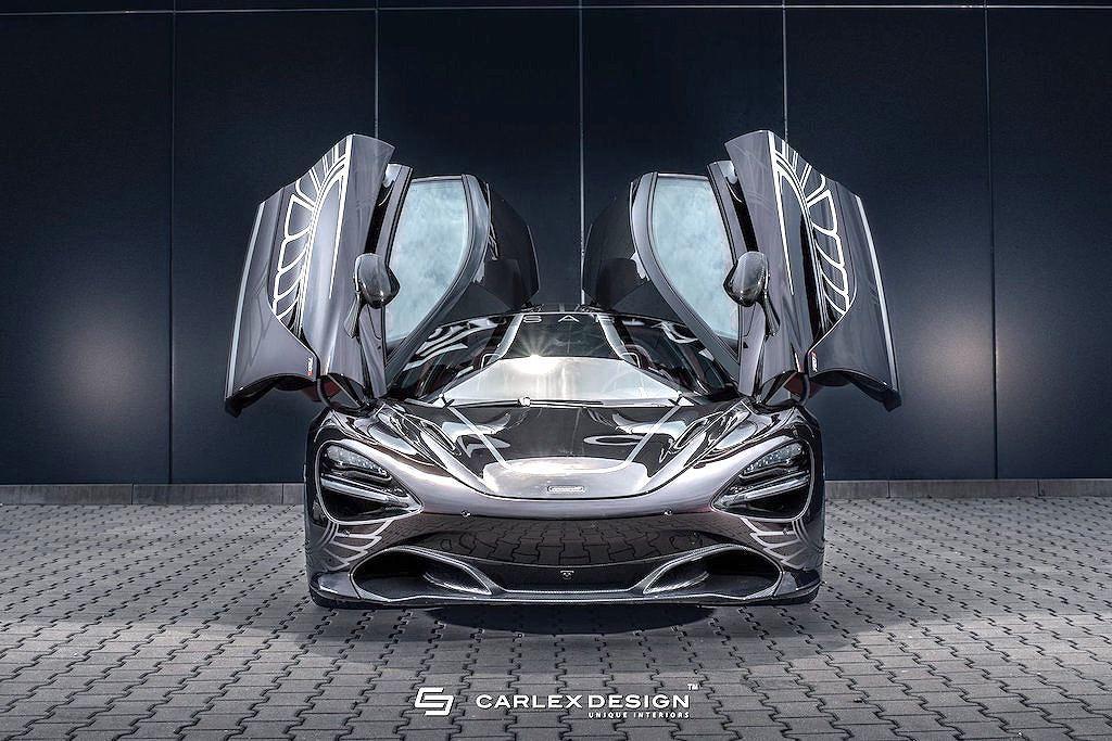 Xe độ bản McLaren 720S với nội thất cực sang