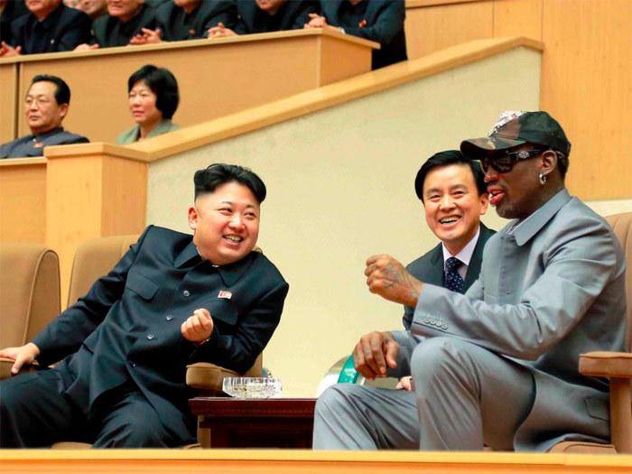 Triều Tiên,ngoại giao bóng rổ,Kim Jong Un,Donald Trump,thượng đỉnh Mỹ-Triều,cuộc gặp Trump-Kim,Dennis Rodman