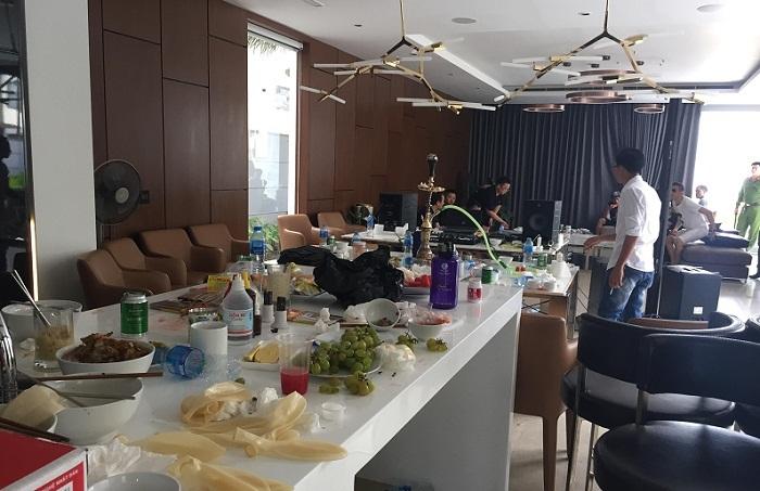 Nhóm dân chơi thác loạn trong biệt thự nổi tiếng ở Đà Nẵng
