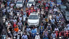 Hà Nội muốn thu phí phương tiện vào khu vực ùn tắc