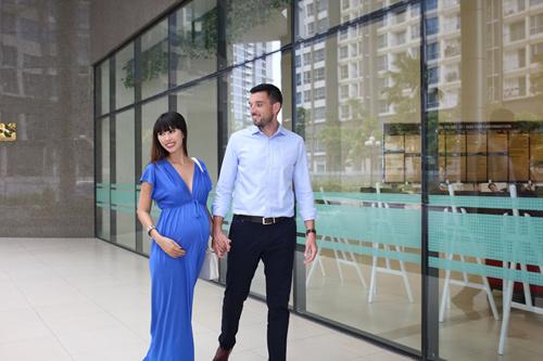 Siêu mẫu Hà Anh sẽ sinh con đầu lòng ở Vinmec