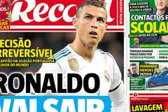 Ronaldo chắc chắn rời Real, về MU hoặc PSG