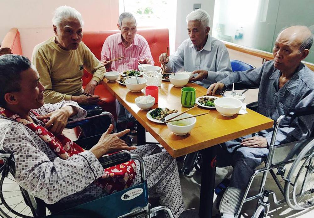 Viện dưỡng lão,Người cao tuổi