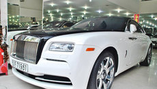 Rolls-Royce củaChủ tịch Trung Nguyên: Đổi chủ, thay 'áo mới'