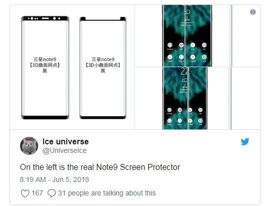 Samsung bê nguyên thiết kế Galaxy Note 8 lên Note 9 để giảm chi phí