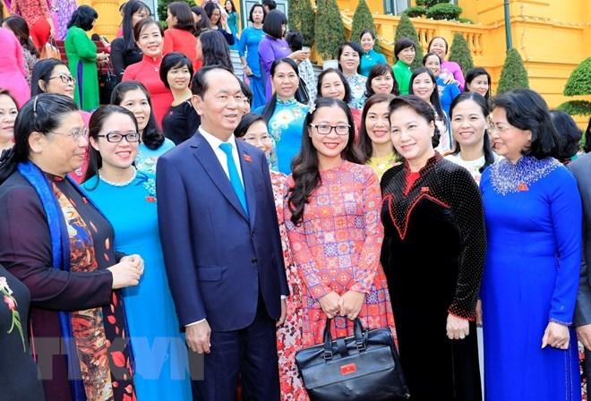 Chủ tịch nước Trần Đại Quang,Trần Đại Quang,Chủ tịch QH Nguyễn Thị Kim Ngân,Nguyễn Thị Kim Ngân