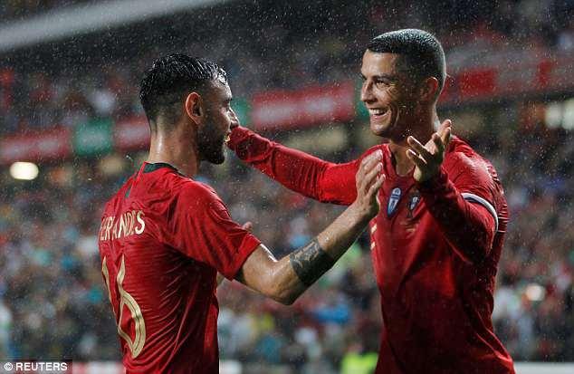 Ronaldo châm ngòi, Bồ Đào Nha thắng to trước World Cup