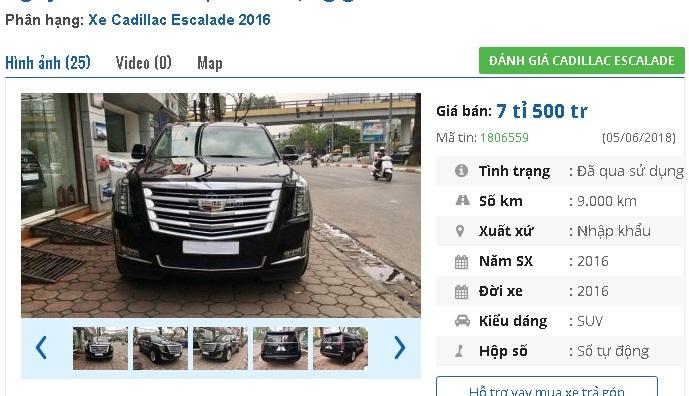 Những chiếc ô tô cũ này đang rao bán giá 7 tỷ tại Việt Nam