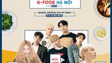 Hội chợ ẩm thực Hàn Quốc 2018