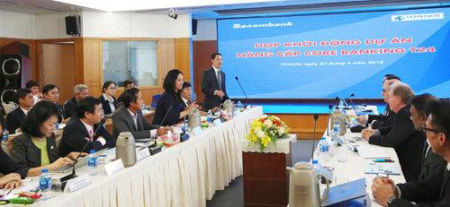 Sacombank khởi động dự án nâng cấp hệ thống ngân hàng lõi