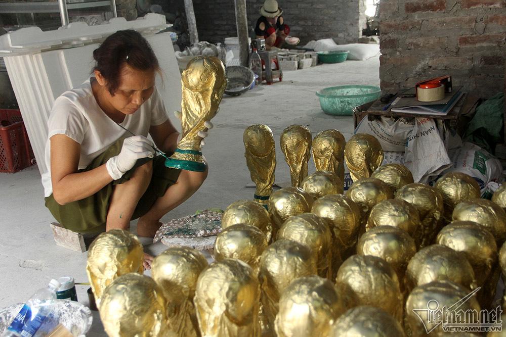 World Cup 2018,cúp vàng FIFA,Bát Tràng