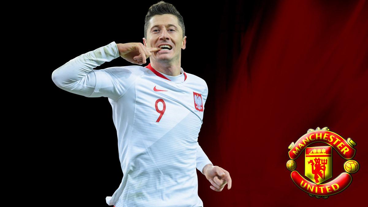 MU mua Lewandowski, Conte từ chối Real